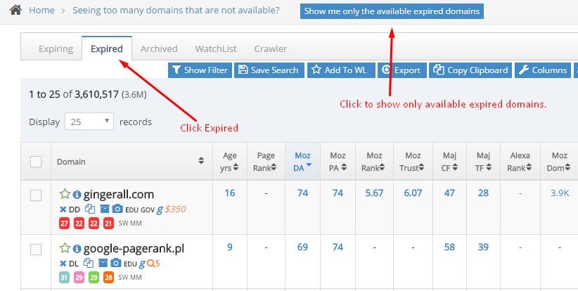 301 domain redirect