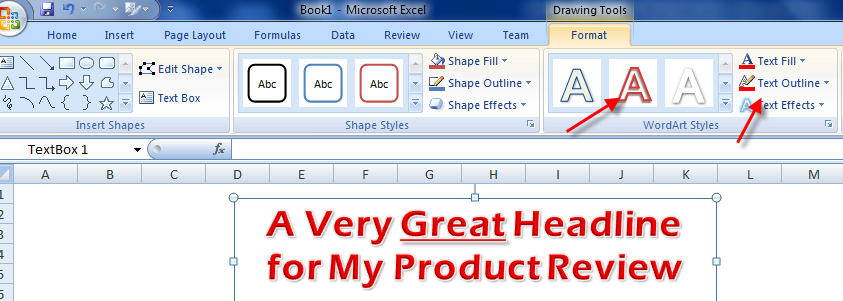 working with Microsoft word