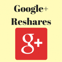 Buy Google Plus Reshares