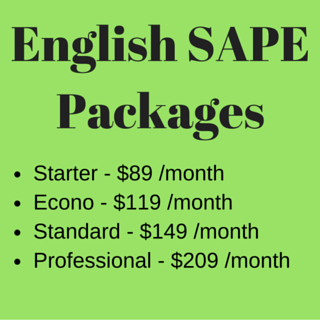 English SAPE Packages