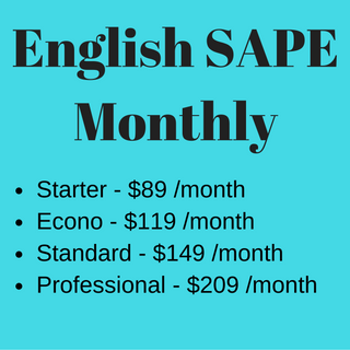 English SAPE Monthly