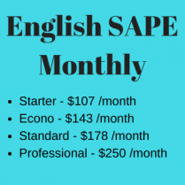English SAPE - Monthly
