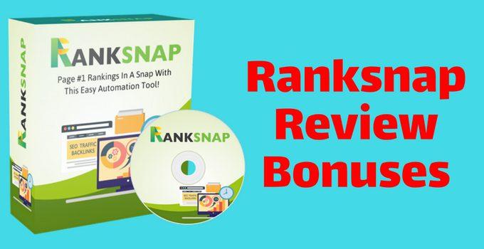 Ranksnap Review and Bonuses