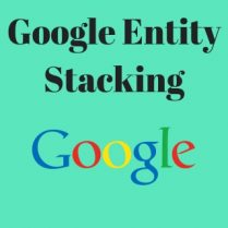 Google Entity Stacking