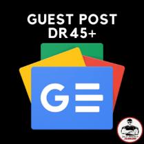 Guest Post DR45+